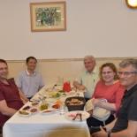 LTR: Amos Sharoni, Beiyi Zhu, Yosef Yeshurun, Beena Kalisky, Shuki Wolfus