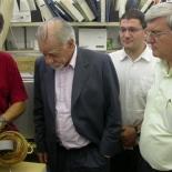 Right to left: Yosi Yeshurun, Gregory Lukovsky, Alex Muller, Shuki Wolfus